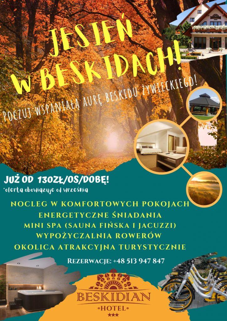 Jesień w Beskidach - Hotel Beskidian
